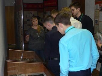 Встреча учащихся Липецкого машиностроительного колледжа с Натальей Васильевной Пешковой