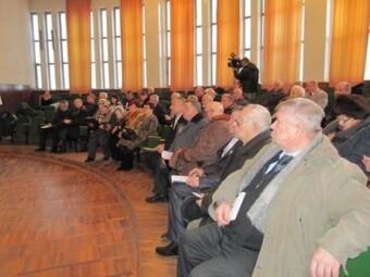 пленум областного совета ветеранов войны