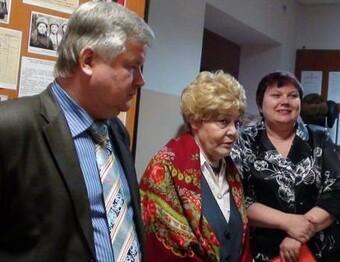 Встреча Лебедевой А.В. с бывшими коллегами